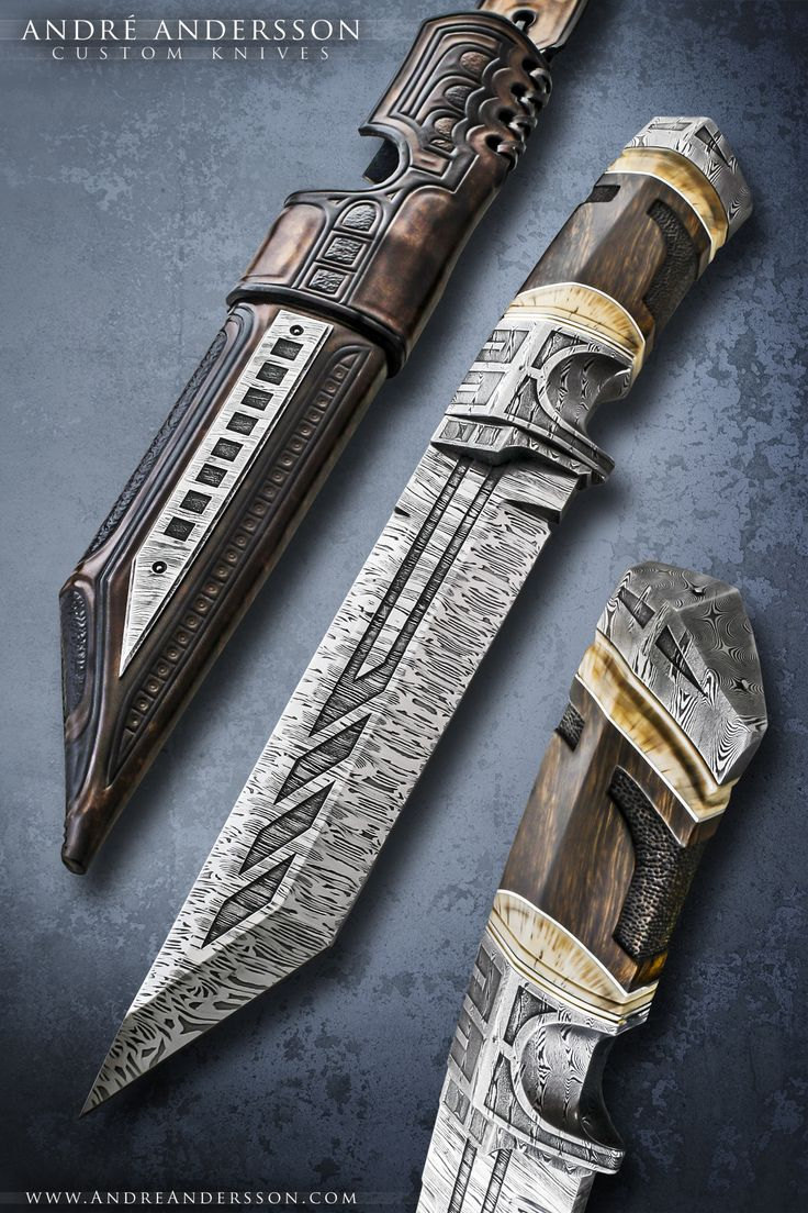 Work from 2011 | André Andersson Custom Knives