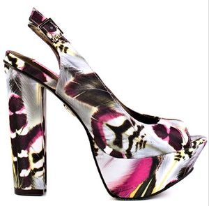 Top Slingback Shoes for Women - 2012: Betsey Johnson 'Mystifyy' - Fun and Funky Slingback Shoes