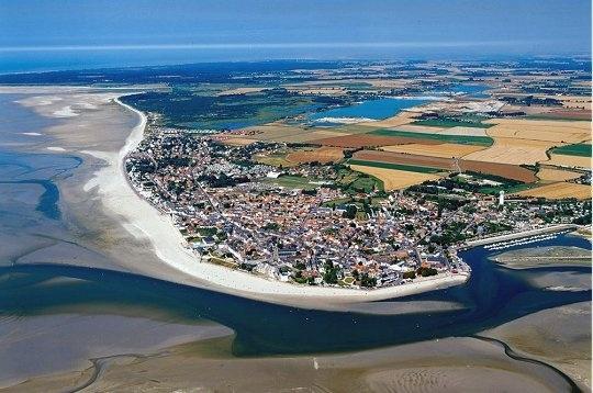 Le Crotoy, en Baie de Somme, Picardie