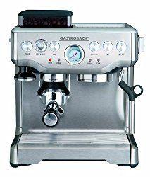 Siebträgermaschine-Test: Hier findest du einen ausführlichen Test der Gastroback 42612 Design Espressomaschine Advanced Pro G.