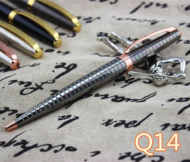ТМ Usesun Синий и черный ручка клип 0.38 ММ Fountain Pen офис школьные принадлежности роскошные мб пера марка