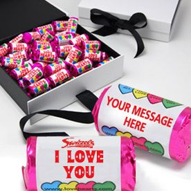 Personalised love hearts for your wedding favours