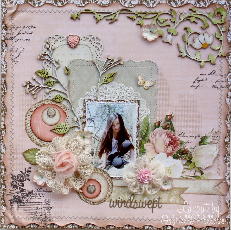 Shabby pastel pink windswept page websters pages dusty - Telas shabby chic ...
