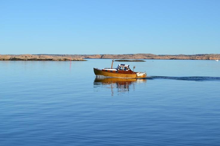 Båt vid Ramsvik
