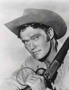 THE RIFLEMAN..... Lucas McCain played by Chuck Conners