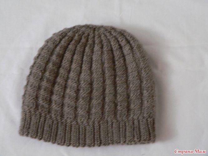 Всем привет! предлогаю вашему вниманию вот такой очаровательный мужской комплектик  Вот описание на шапку  а это то что получилось у меня  пряжа ализе лана гольд файн ушло 3,5 мотка.