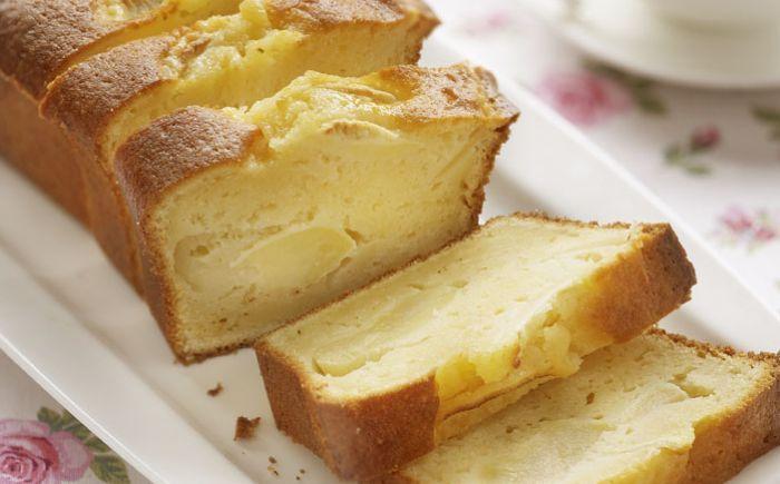 Cake au yaourt et à la pomme