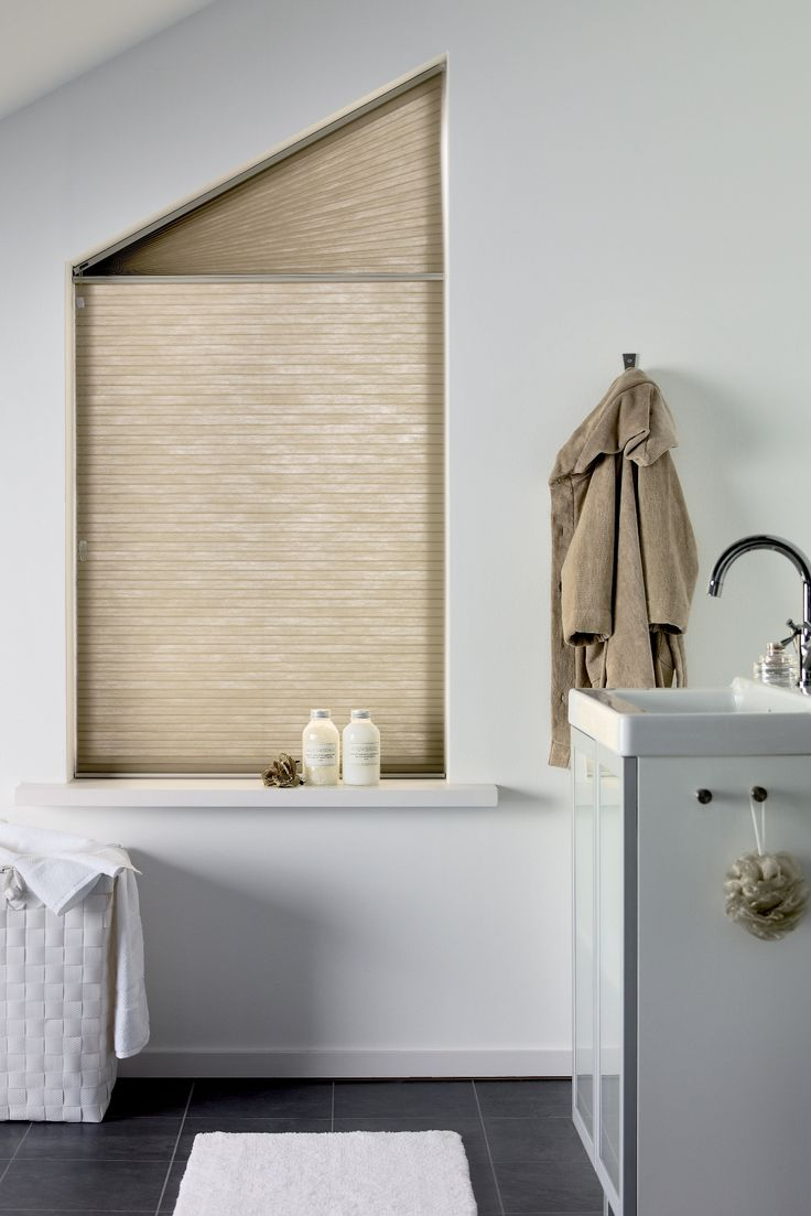 Bathrooms look great with Duette Blinds