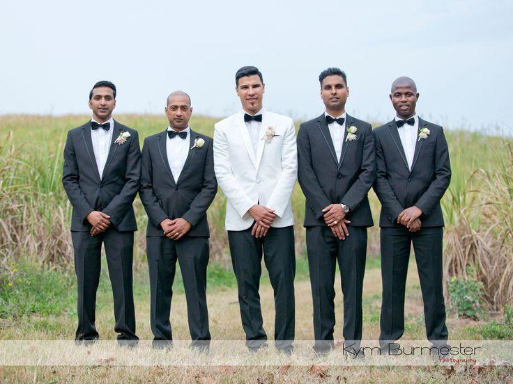 Classic Black tie wedding