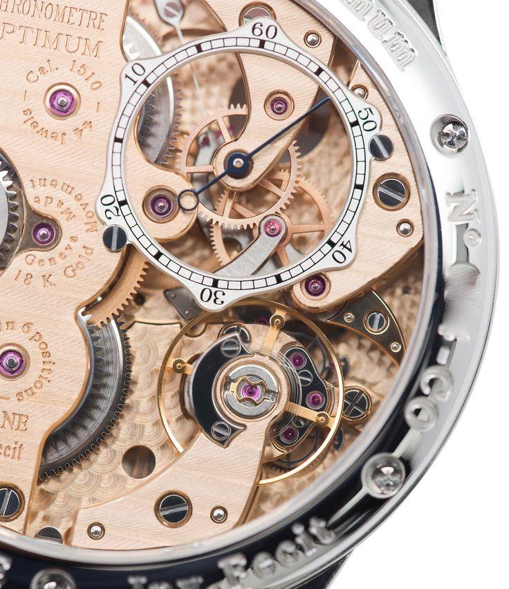 1510 calibre F. P. Journe Chronometre Optimum platinum rare watch at A Collected Man London