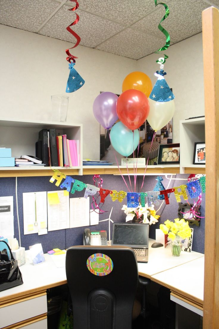 cubicle decoration