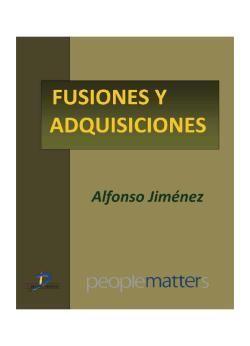 Jiménez, Alfonso. Fusiones y adquisiciones. Ediciones Díaz de Santos. 2013. ISBN:  9788499696256. Disponible en: Libros electrónicos EBRARY.