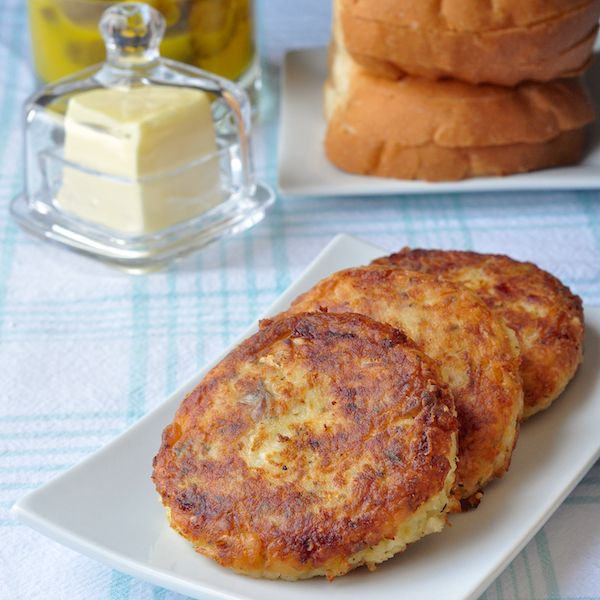 Recipe salt fish cakes