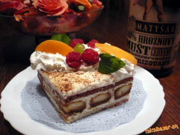 Tvarohový dezert nepečený