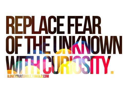 Vervang angst voor het onbekende met Nieuwsgierigheid door Gudeki