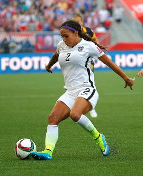 Hot photos of Team USA soccer star Sydney Leroux in action at 2015 World Cup