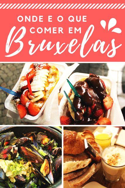 Guia de onde e o que comer em Bruxelas, Bélgica - Drawing Dreaming
