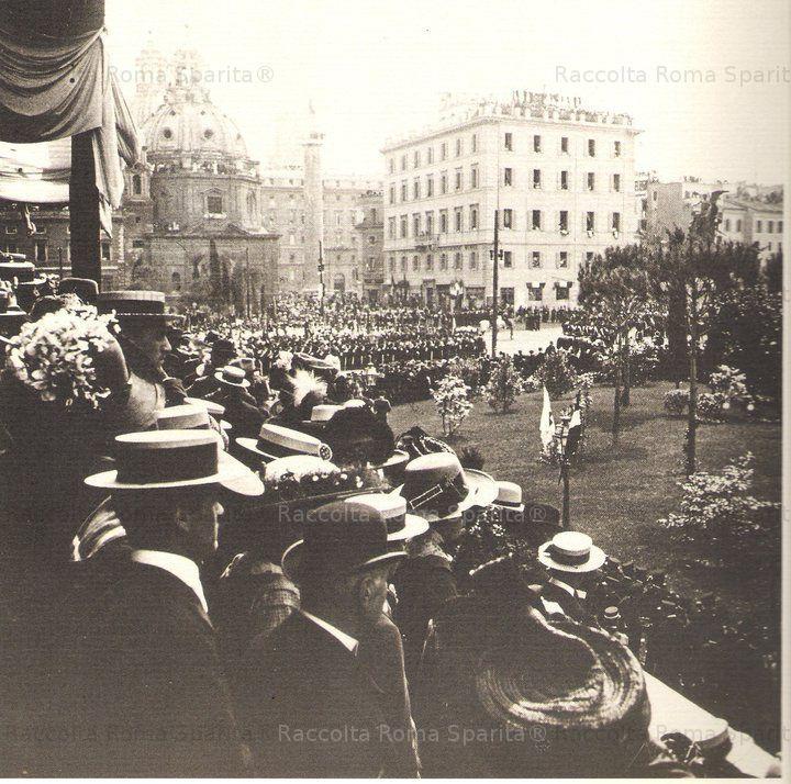 Roma Sparita - Piazza Venezia 1911