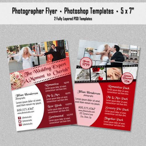 photography advertisement flyer - Google Search | Visc113 final ...