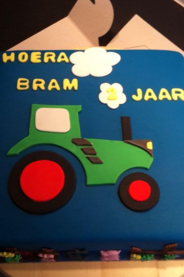 Tractor taart voor m'n neefje