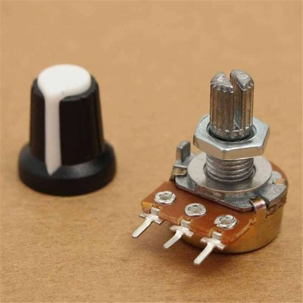 5pcs 10k 3 Terminal Linear Taper Rotary Potentiometer B10k 103 For Arduino Nel 2020 Arduino