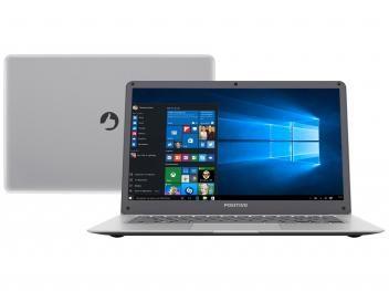 "Notebook Positivo Motion Q 232A Intel Quad Core - 2GB 32GB LCD 14"" Windows 10"