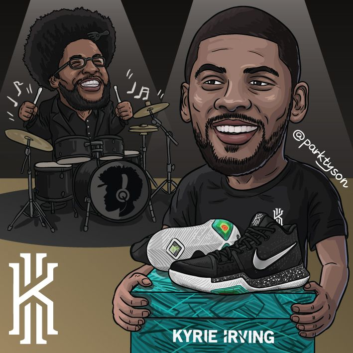 Nike Kyrie 3 feat. Questlove
