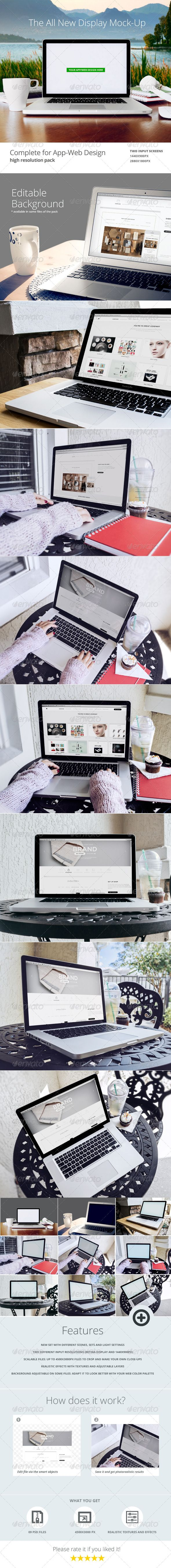 Laptop Web App Mock Up 09 PSD Files For Sale And Showcase Your Or