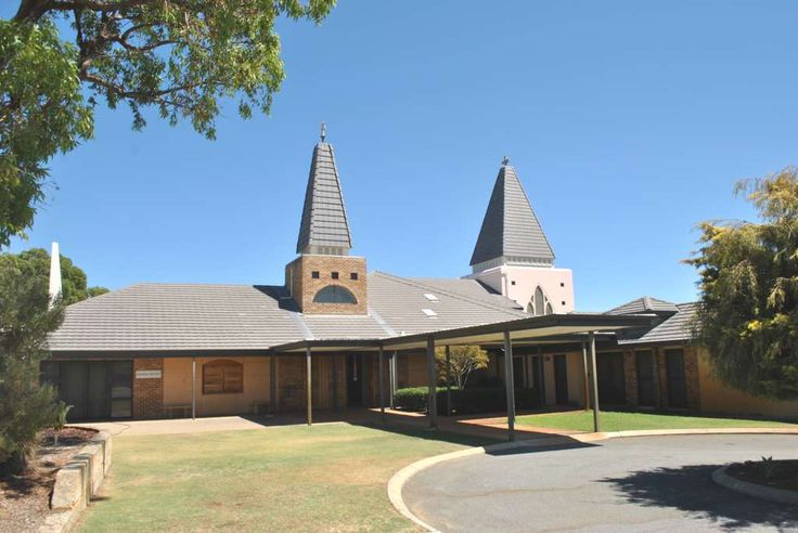 Church and Recreational Hall in Yangebup. Visit Zegna Building at http://zegna.net.au