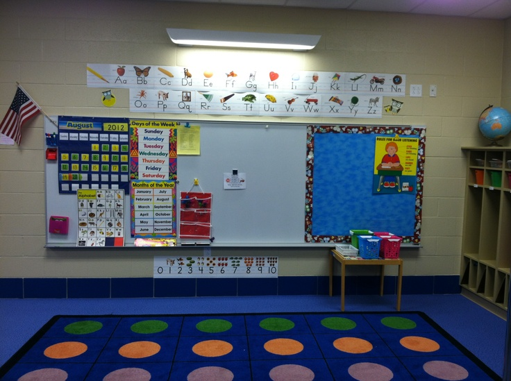 17 best images about white board organization kindergarten for Bulletin board organization
