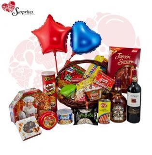 Ancheta de Lujo. Hermoso regalo, para sorprender en cualquier ocasión, con estilo, le encantara. www.surprisesbogota.com tel: 4380157 Cel: 3123750098