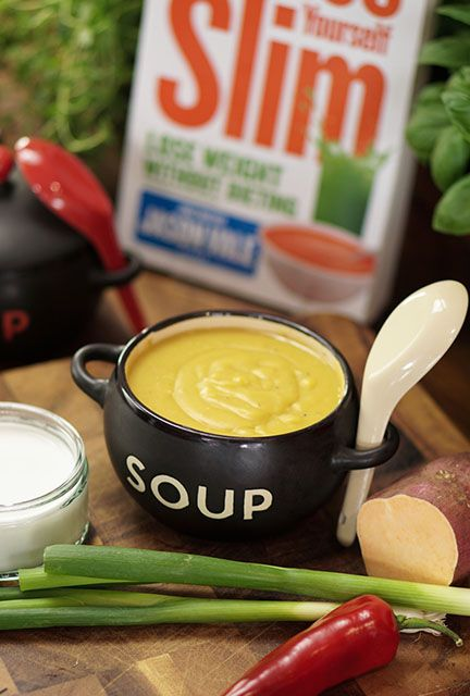Sweet Potato, Coconut and Chilli Soup - Juice Master