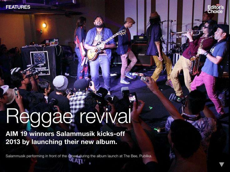 "Salammusik ""O"" album launch @ The Bee Publika"