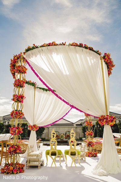 8 Marvelous Outdoor Mandaps! | Maharani Weddings