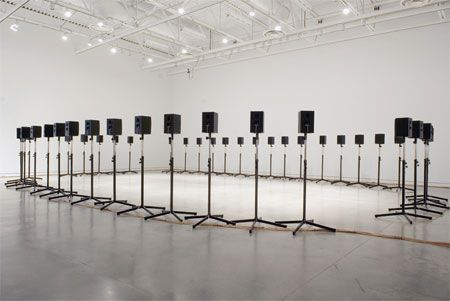 "Janet Cardiff's ""40 Part Motet"" <3"