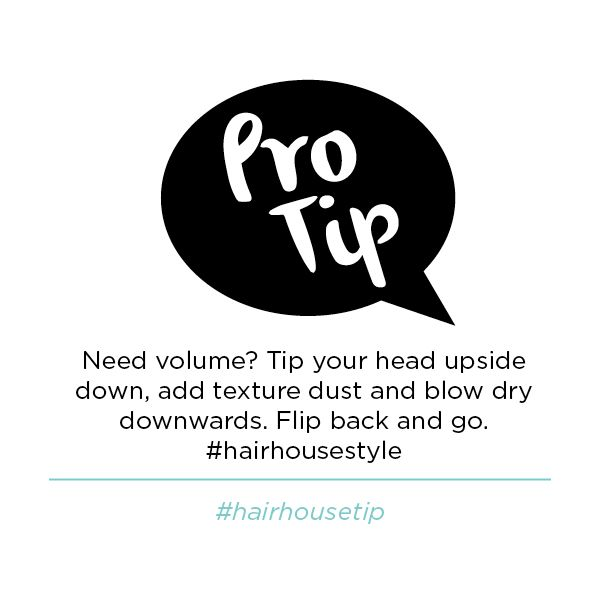 Whip it back and forth and show us your Hairhouse style!