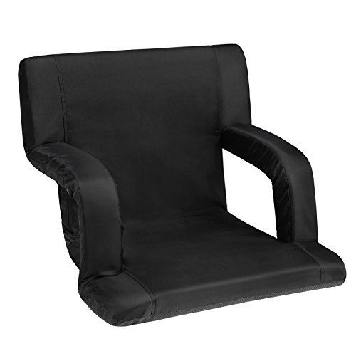 SONGMICS Portable Stadium Seat Chair 6 Reclining Positions for Bleachers UGSS32B  SONGMICS Portable Stadium Seat Chair 6 Reclining Positions for Bleachers UGSS32B  Expires Sep 24 2017