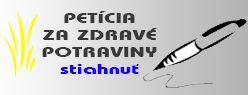 Všetko najlepšie milá Petícia...  Naša/Vaša Petícia za zdravé potraviny a Slovensko bez geneticky modifikovaných organizmov dnes oslavuje presne rok.  Pred rokom náš tím Občianskej iniciatívy Slovensko bez GMO pochodoval spolu s niektorými z vás ulicami Bratislavy a odovzdali sme petíciu Ministerstvu pôdohospodárstva a rozvoja vidieka SR a Ministerstvu životného prostredia.  V priebehu roka sme vďaka VÁM vyzbierali tisícky podpisov a ďalšie stále prichádzajú.