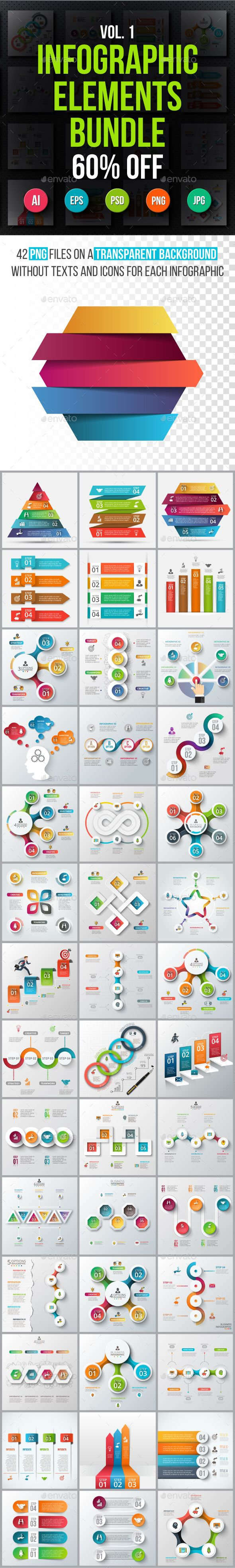 #Infographic elements bundle v.01 - Infographics Download here: https://graphicriver.net/item/infographic-elements-bundle-v01/19583976?ref=alena994