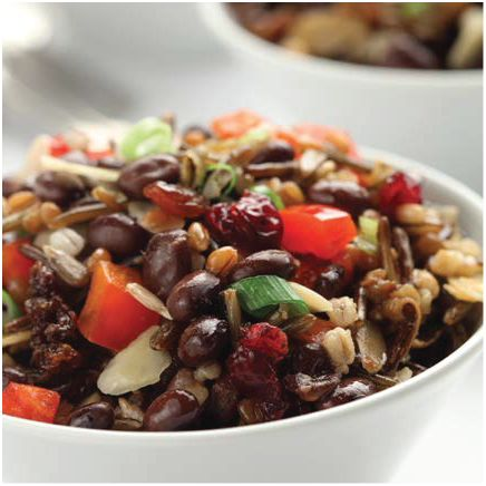 Northern Black Bean & Grain Salad
