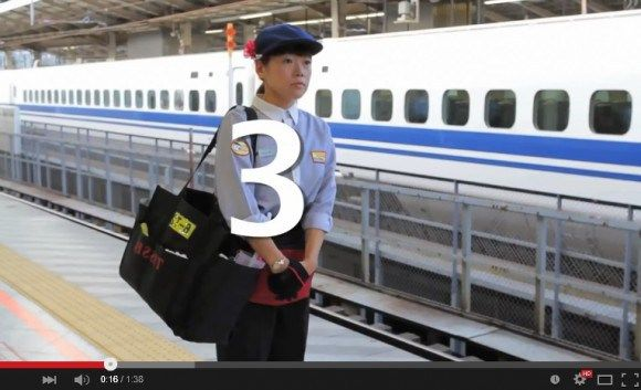 This is how Japan's train-cleaning crews clean the Shinkansen in only seven minutes | RocketNews24