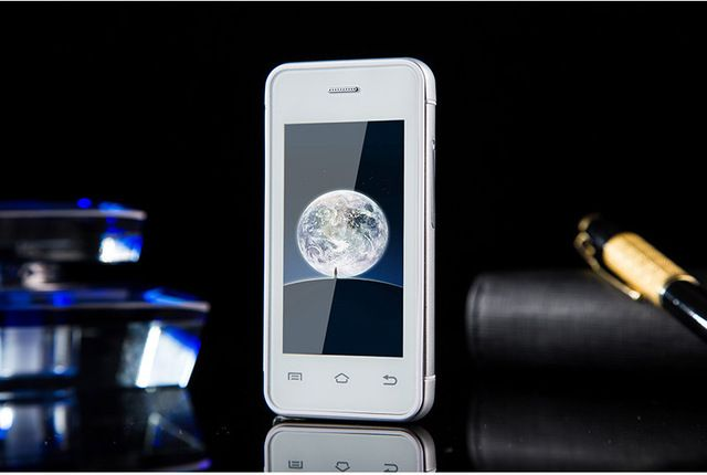 Hot sale Original Melrose S9 Ultra-thin Pocket Card phones Mini 3G Smartphone 2.4 Inch Android 4.4 MTK6572 Dual Core 1.2Ghz WIFI US $60.99-64.99 /piece To Buy Or See Another Product Click On This Link  http://goo.gl/EuGwiH