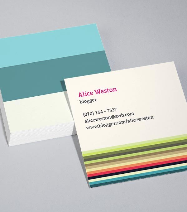 20 best business cards images on pinterest business card design create customised square business cards from a range of professionally designed templates from moo colourmoves