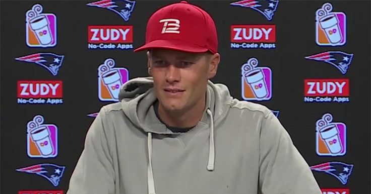 Patriots quarterback Tom Brady addresses the media during his press conference at Gillette Stadium on Wednesday, August 23, 2017.