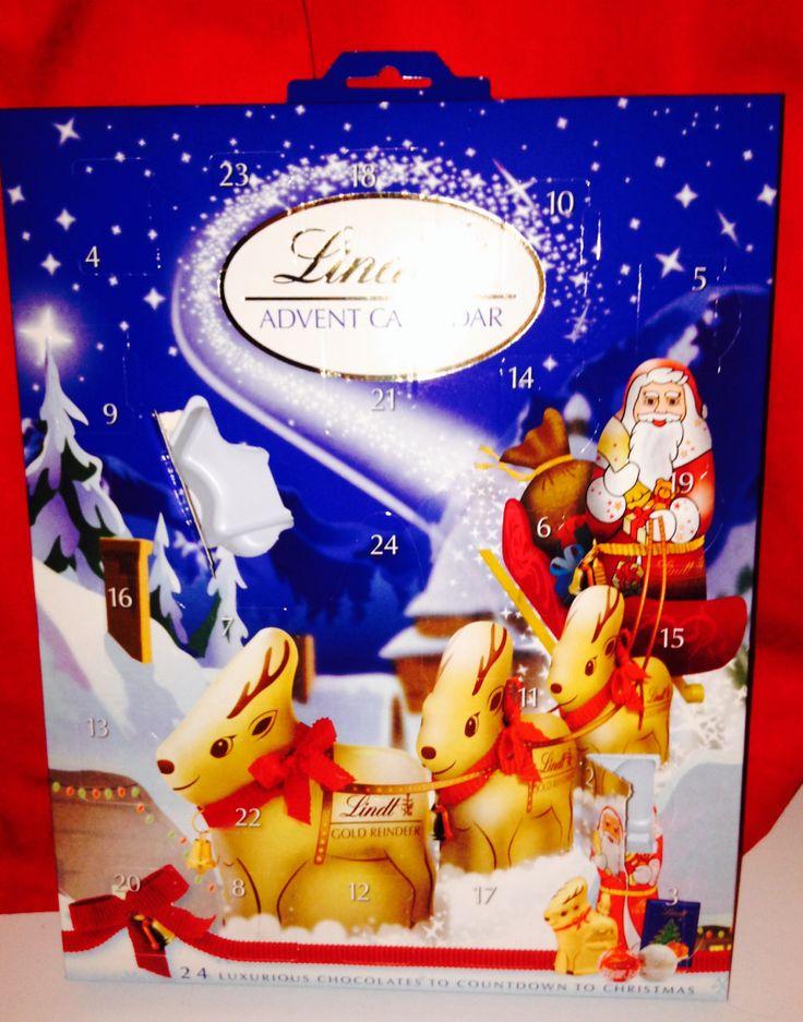 My Lindt advent calendar! Yum!