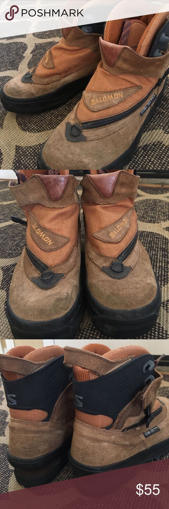 Salomon Hiking Boots From technical climbing to trail time, these are serious hikers. Super comfortable. Excellent condition. Salomon Shoes