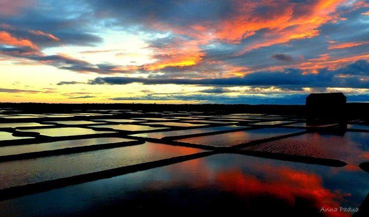 mais salants de Guérande , avril 2015.cet reflet du ciel dans l'air salé des marais ~ comment oublier