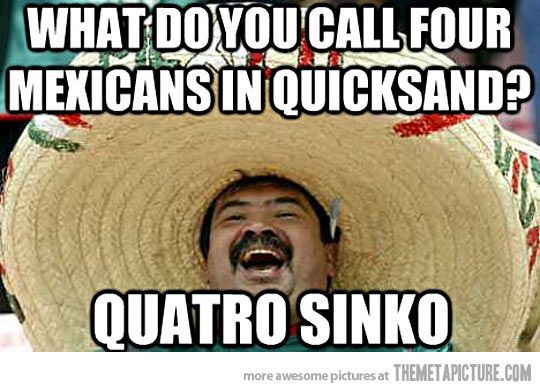 Mexicans in quicksand. #learn #spanish #kids