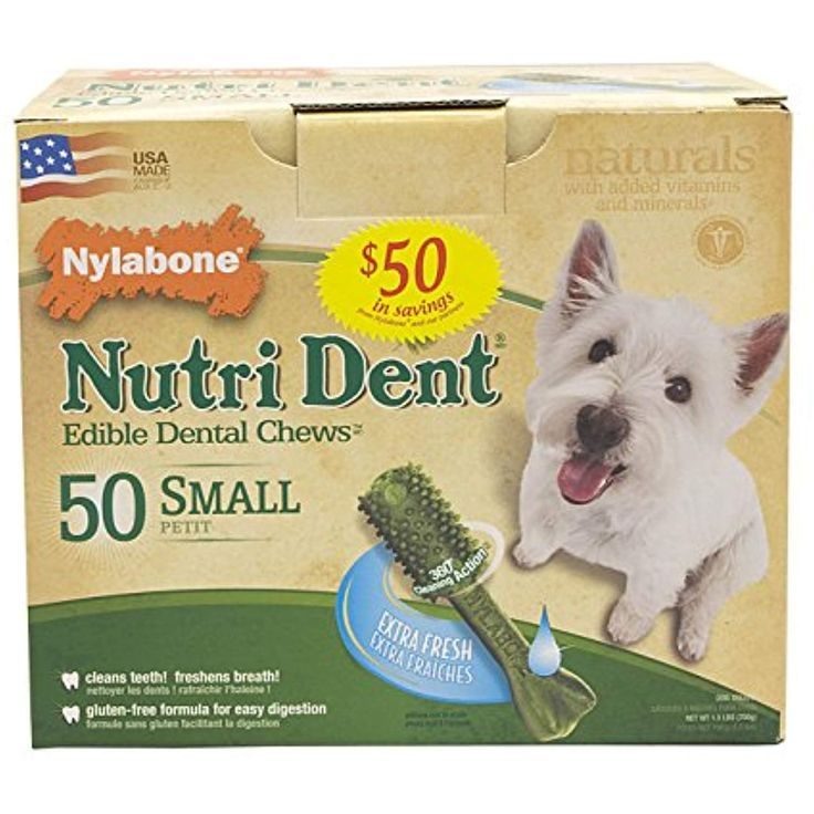 Nutri dent dog treats small extra fresh 50 pk check