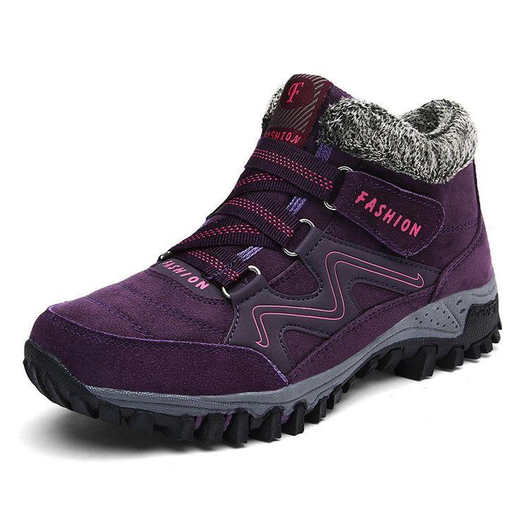 Large Size Non Slip Casual Boots #men #women  #shoes #fashion